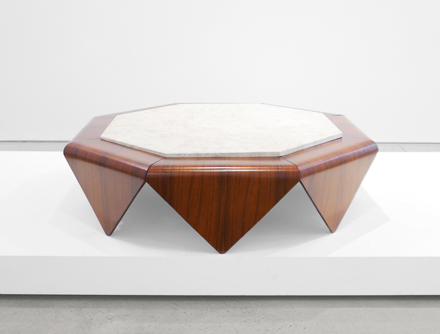 ", '""Petalas"" Rosewood Coffee Table,' 1960-1969, Peter Blake Gallery"