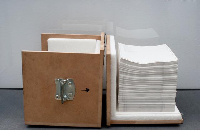 , 'Nur noch 2190 Tage bis zum Ende des Kapitalismus (Denkmaschine),' 1981, Galerie Crone