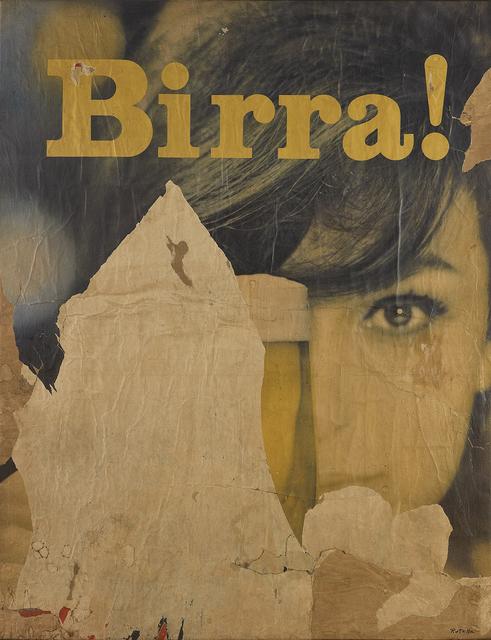 , 'Birra!,' 1962, Robilant + Voena