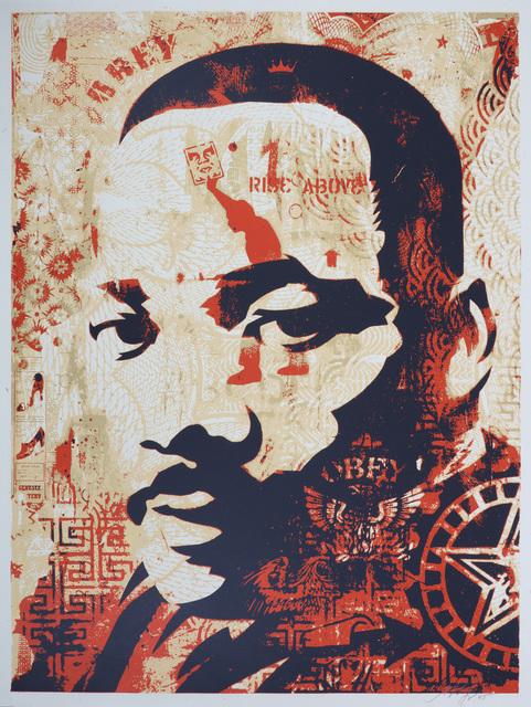 Shepard Fairey, 'MLK Jr', 2005, Print, Screenprint in colours, Chiswick Auctions