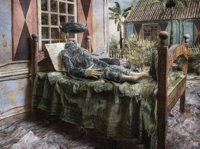 Jasper de Beijer, 'Brigadier', 2018, Mixed Media, C-print, FLATLAND