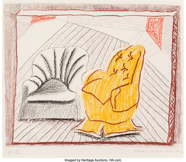 David Hockney, 'A Picture of Two Chairs, from Moving Focus', 1985-86, Heritage Auctions