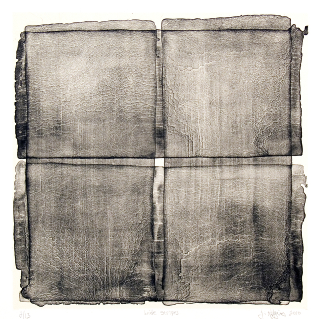 , 'Wide Stripes,' 2010, Manneken Press