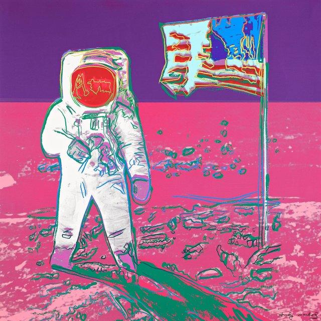 Andy Warhol, 'Unique Moonwalk', 1987, Coskun Fine Art