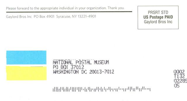'Intelligent Mail Barcode', 2013, Cooper Hewitt, Smithsonian Design Museum