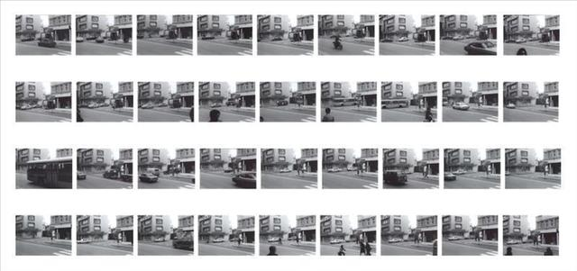 , 'Time series - Street Crossing,' 1970, Simon Lee Gallery