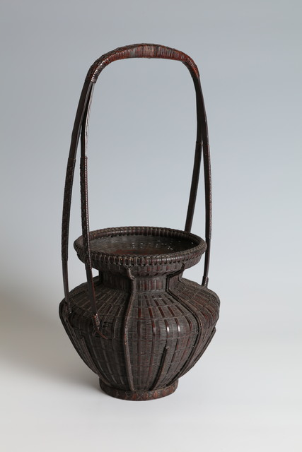 , 'Chinese Flower Basket with Tall Handle (T-4364),' 19th Century, Erik Thomsen