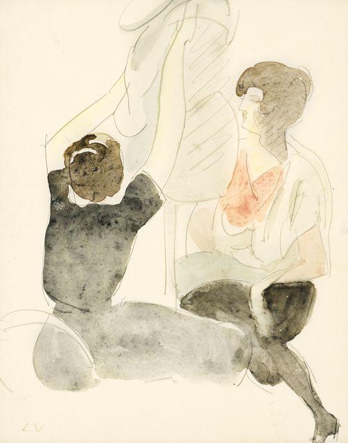 Louis Valtat, 'Les Couturieres', ca. 1918, Fairhead Fine Art Limited