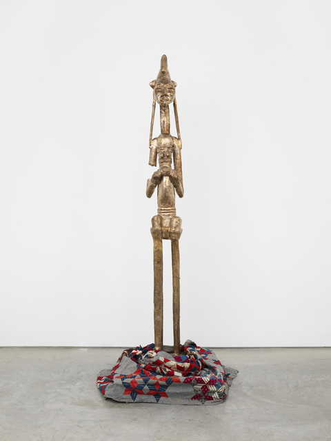 , 'BAM (Seated Warrior),' 2017, Marianne Boesky Gallery