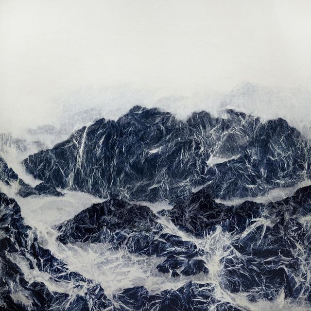 , 'Cyano-Collage 004,' 2017, Galerie du Monde