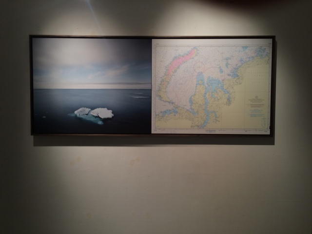 , 'Coordinate  59°10'N 173°22'E - 25/07/2012 - 00:04 UTC with map,' 2012, ILEX Gallery