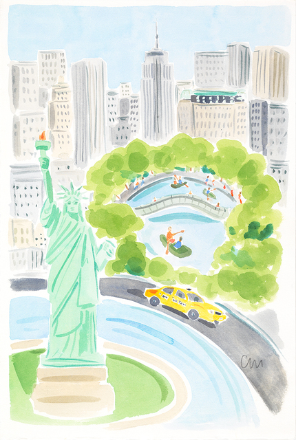 , 'New York Scenic,' , ArtStar
