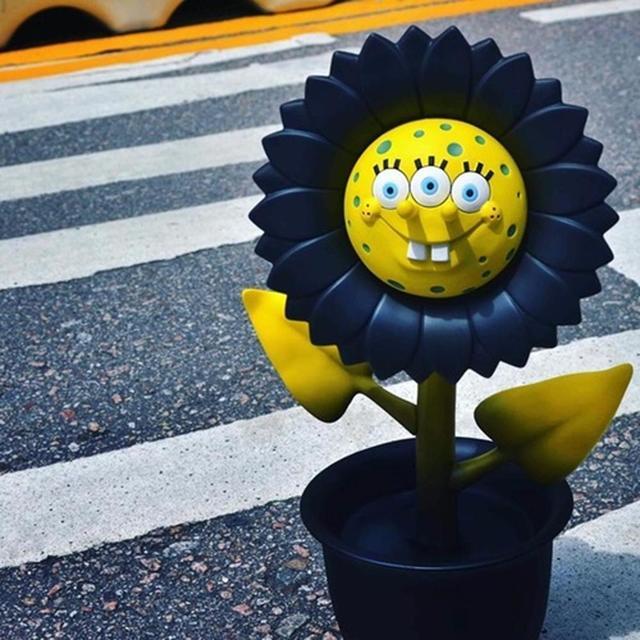 """Ron English, 'APPortofolio """"Shocking Sunflower""""', 2017, Sculpture, Steel reinforced, vinyl, metal, Dope! Gallery"""