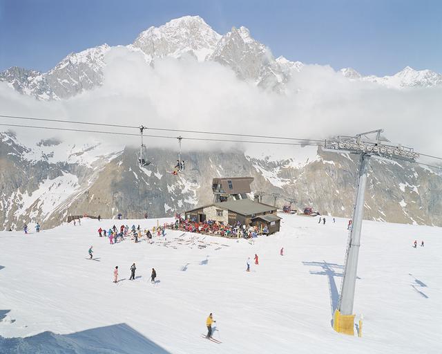 Massimo Vitali, 'Mont Blanc (#0653)', 2000, Benrubi Gallery