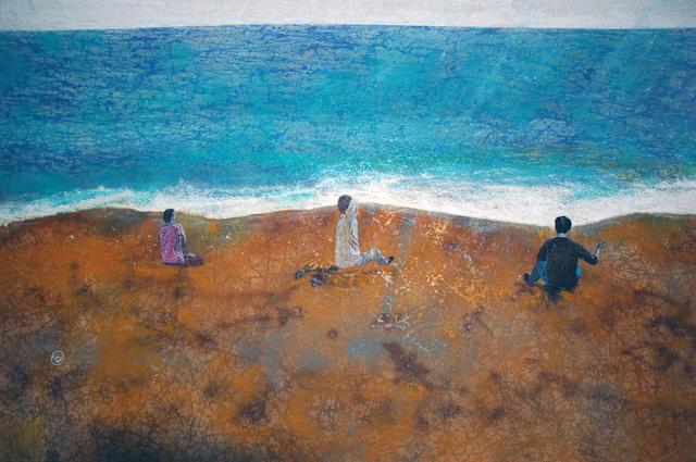 , 'Landscape Redux; NO-nVOID/4: Untitled (Rck Bch) ,' 2005, Abe+Okuta