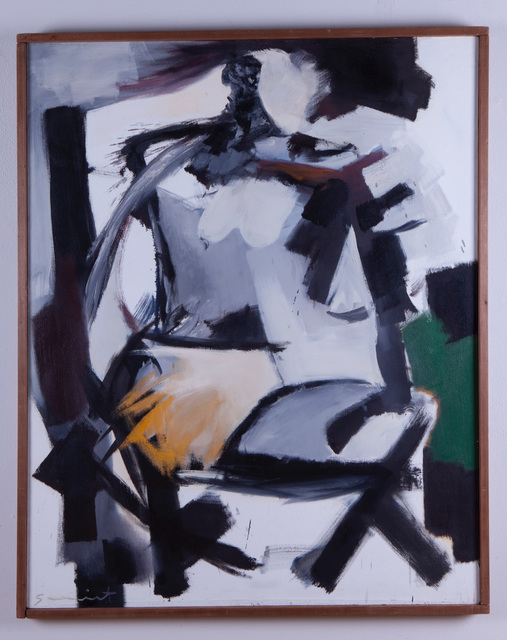 , 'Use of White, Seated Figure,' 1961, Frederick Holmes and Company