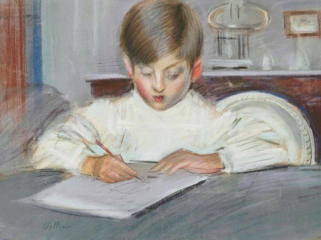 , 'Leҫon de dessin,' 1901, Christopher Kingzett Fine Art