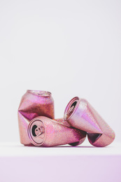 Untitled (Cans) (Pink)