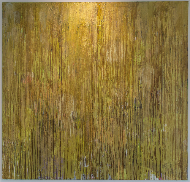 Daniel Orson Ybarra, 'Urban Jungle gold', 2016, Laurent Marthaler Contemporary
