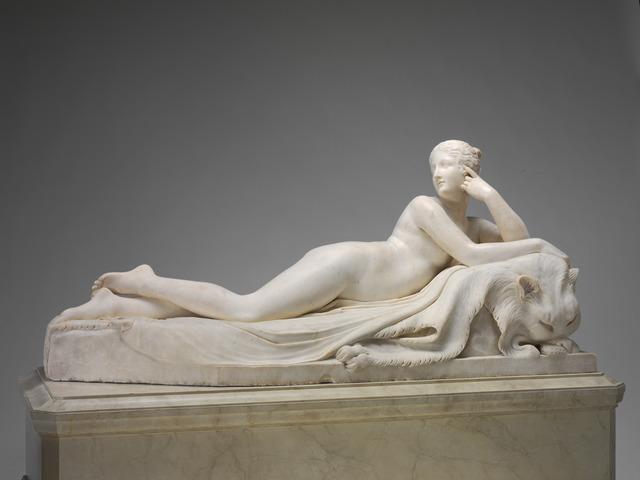 Antonio Canova, 'Naiad', model 1815/1817-carved 1820/1823, National Gallery of Art, Washington, D.C.