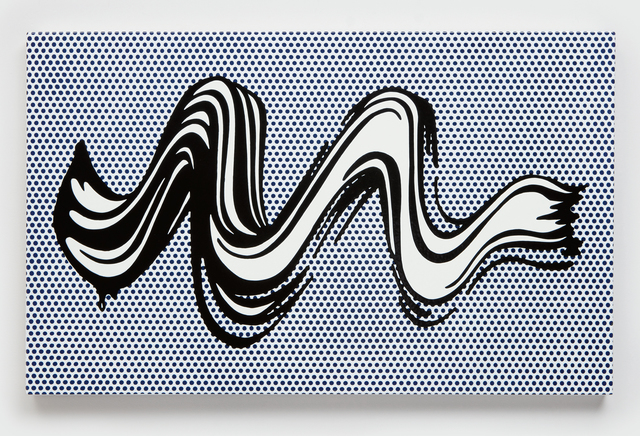 Roy Lichtenstein, 'Brushstroke', 1965, Phillips
