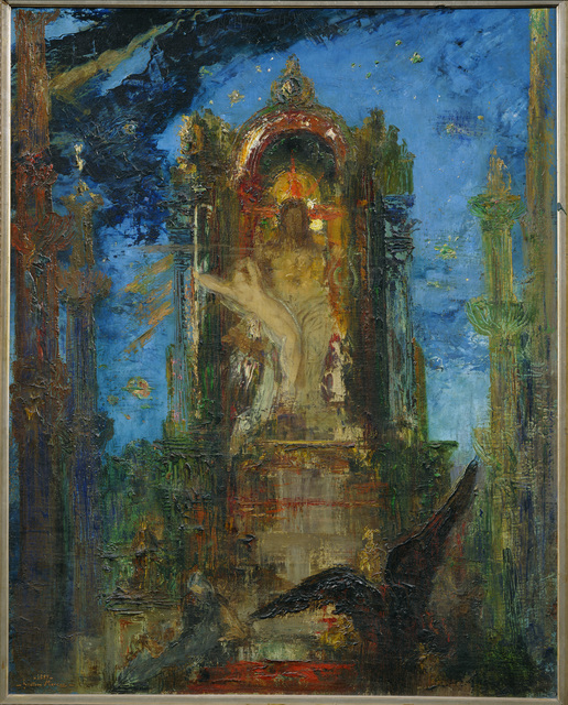 Gustave Moreau, 'Jupiter and Semele', ca. 1889, Painting, Erich Lessing Culture and Fine Arts Archive