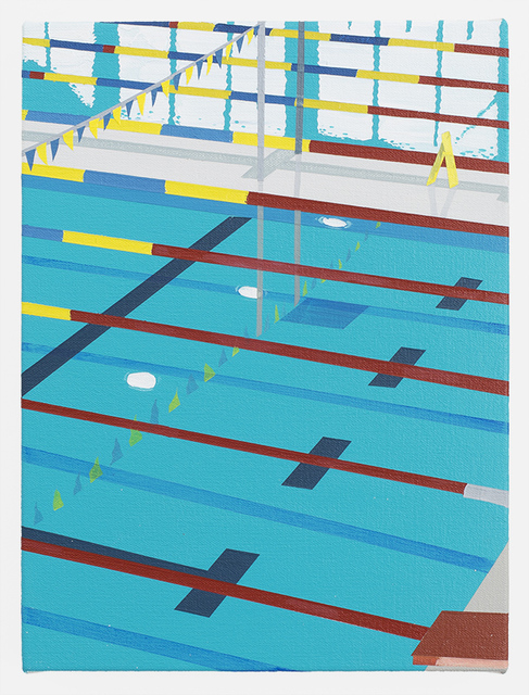 , 'Niigata Pool,' 2016, Ameringer | McEnery | Yohe