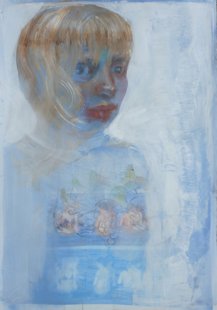 , 'Self-Portrait as Blonde,' 2012, Infuse Gallery