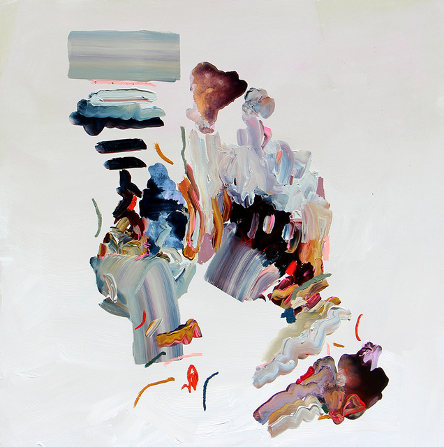 Janna Watson, 'The Purpose of Thinking', 2021, Painting, Mixed media on panel, Foster/White Gallery
