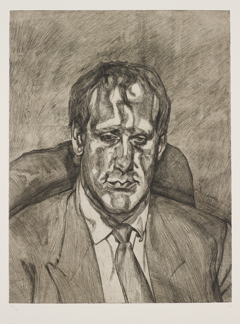 Lucian Freud, 'Head of an Irishman', 1999, Frestonian Gallery