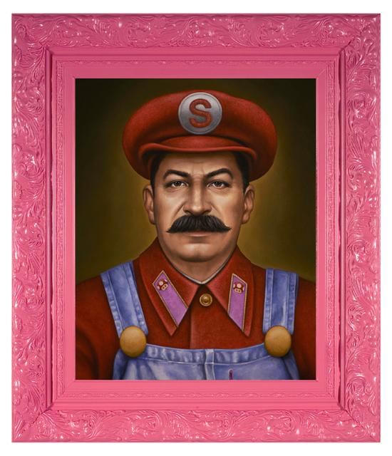 , 'Super Stalin Bro,' 2016, Spoke Art