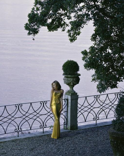 , 'Carla Bruni en Gianni Versace ,' , Photo12 Galerie