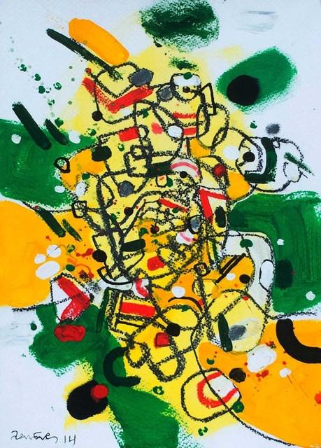 , 'Espacios previos tres ,' 2014, Lux Perpetua Art Centre