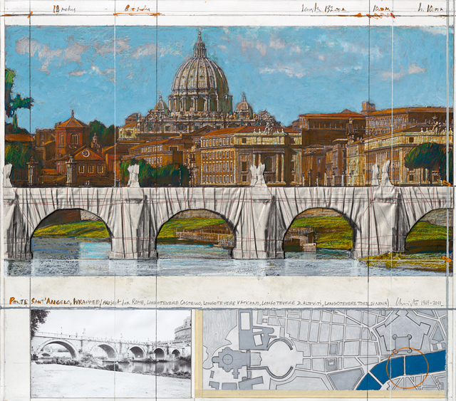 , ' Ponte San Angelo - Project for Rome, 1969-2011,' 2011, Aurifer AG