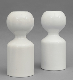 Two candle holders for CERAMICHE GABBIANELLI Milano