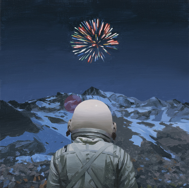 , 'Mountain Fireworks,' 2017, Station 16 Gallery