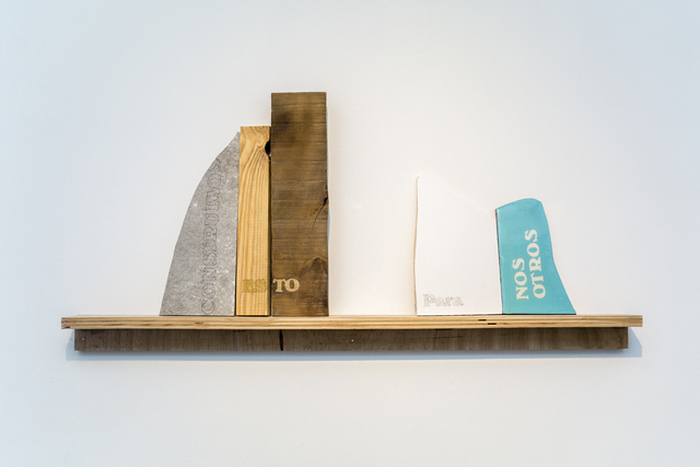 , 'Constuimos Esto Para Nosotros,' 2016, Casa Nova Arte e Cultura Contemporanea