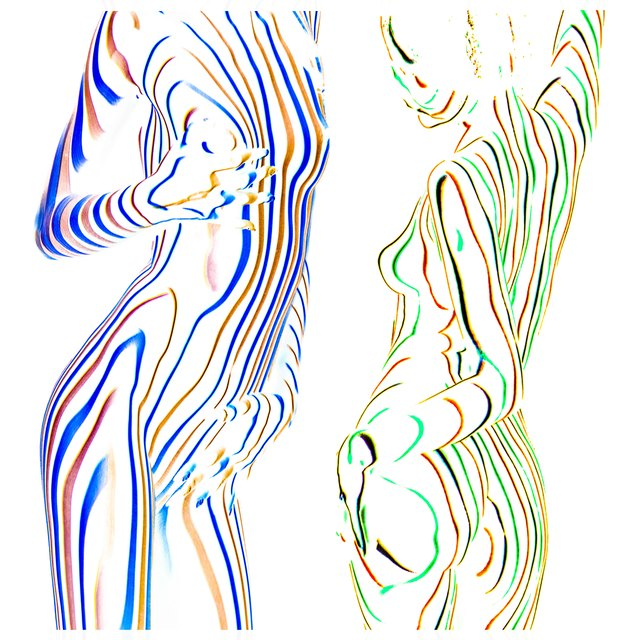 , 'Delicate Lines,' 2018, Fine Art Maya