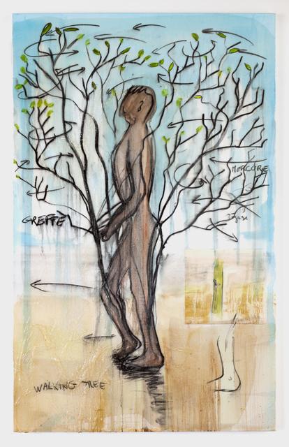 , 'Walking tree,' 2012, Galerie Nathalie Obadia