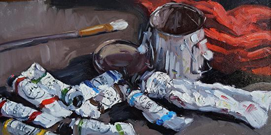 Scott W. Prior, 'Gamblin Man', 2010-2018, Helena Fox Fine Art