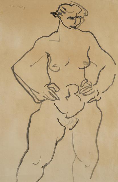 , 'Nude,' ca. 1957, Charles Nodrum Gallery