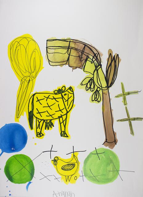 Arunan Dharmalingam, 'Yellow Cow & Banana Tree', 2017, Studio A