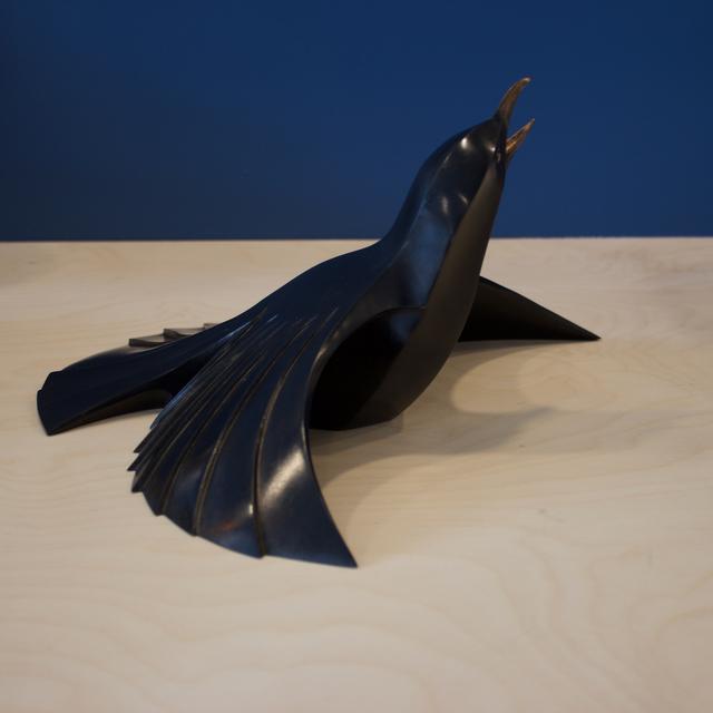, 'Male Blackbird,' 2017, Bils & Rye