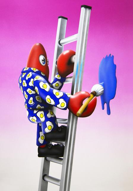 Philip Colbert, 'Lobster Painter', 2019, Unit London