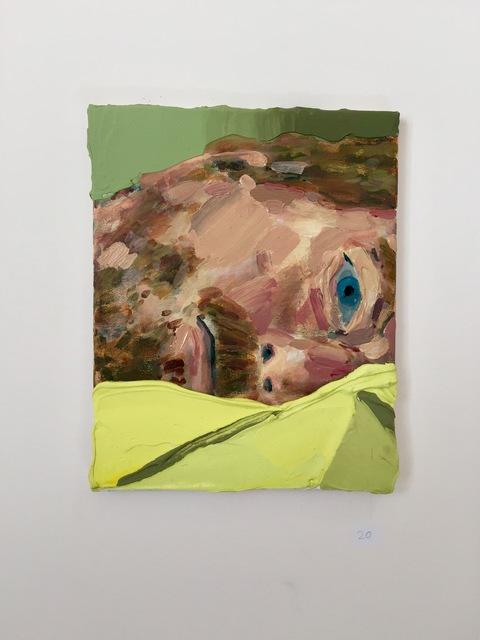 Hilary Doyle, 'Half Asleep', 2016, Painting, Acrylic on canvas, Park Place Gallery