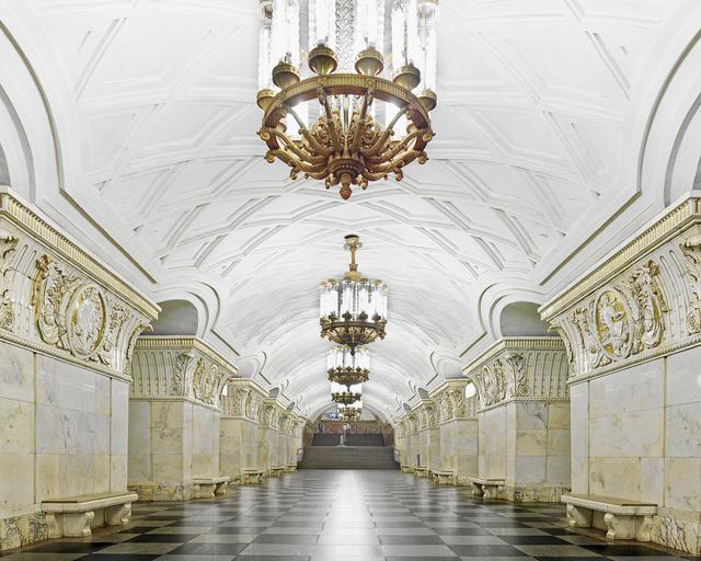 , 'Prospekt Mira Metro Station, moscow, Russia,' , Bau-Xi Gallery