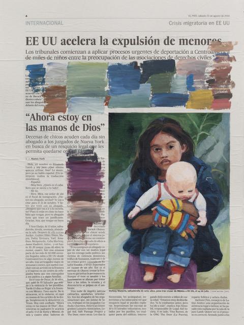 , 'Prueba de color III,' 2014, Galería Lucia de la Puente