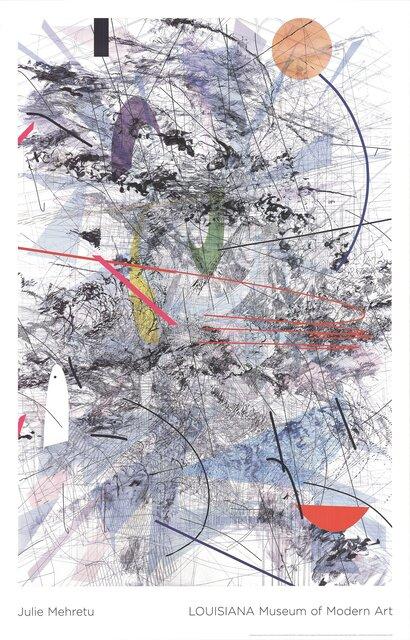 Julie Mehretu, 'Easy Dark', 2007, Ephemera or Merchandise, Offset Lithograph, ArtWise