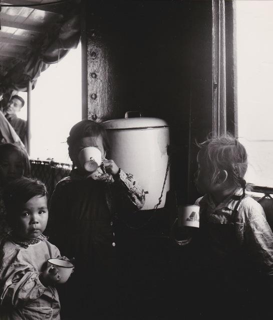 , 'Chine, sur le bateau qui dessert le Yang Tze,' 1957, Galerie Nathalie Obadia