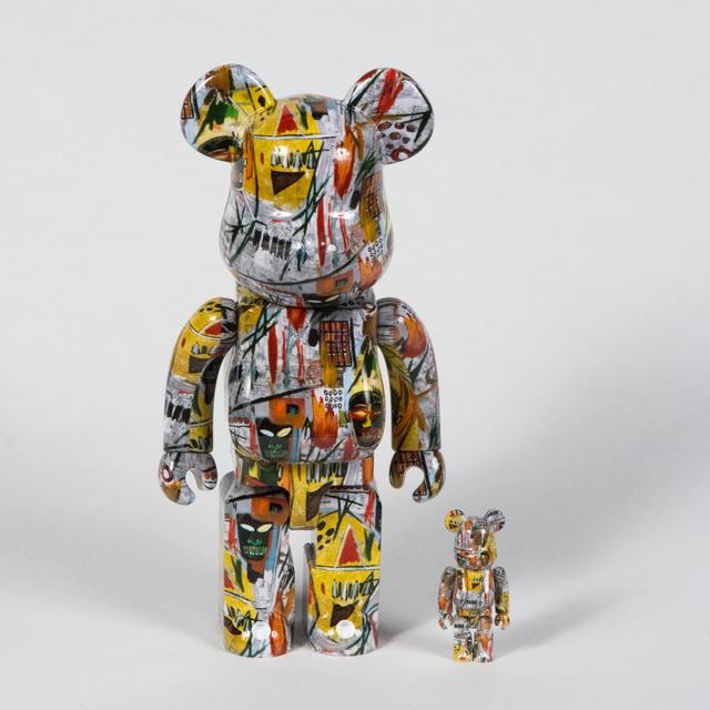 Jean-Michel Basquiat, 'Bearbrick 100% & 400%', 2017, Doyle